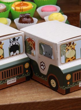 Jollyjoy SAFARI JEEP BASKET BOX