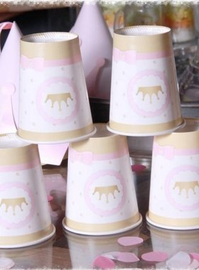 Jollyjoy 6 PRINCESS KINGDOM PAPER CUPS