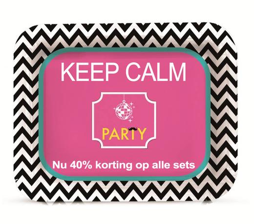 Keep Calm Feestartikelen  | Goedkope verjaardag versiering | Verjaardag spullen | Versiering feest