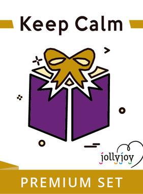 Jollyjoy Keep Calm Premium Pakket voor 8 of 10 personen