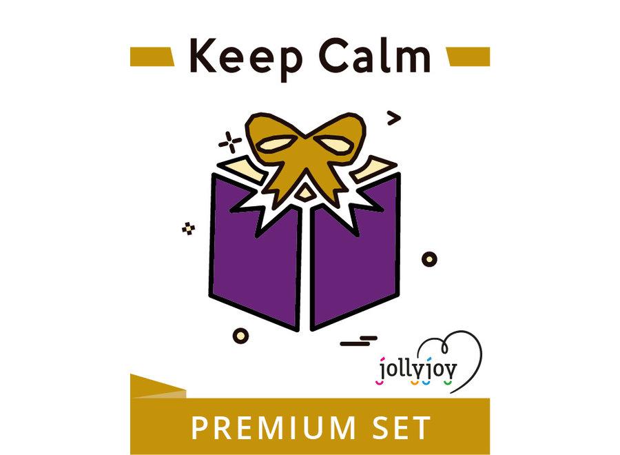 Keep Calm Premium Pakket voor 8 of 10 personen