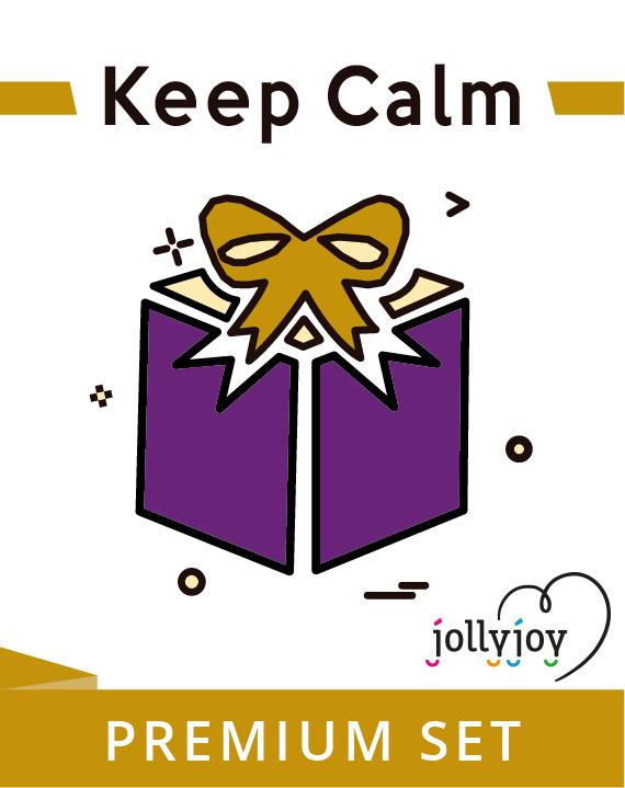 Jollyjoy PREMIUM KIT KEEP CALM