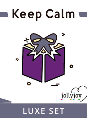 Jollyjoy Keep Calm Luxe Pakket voor 8 of 10 personen