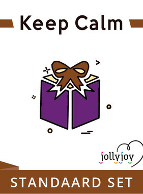 Jollyjoy Keep Calm Standaard Pakket voor 8 of 10 personen