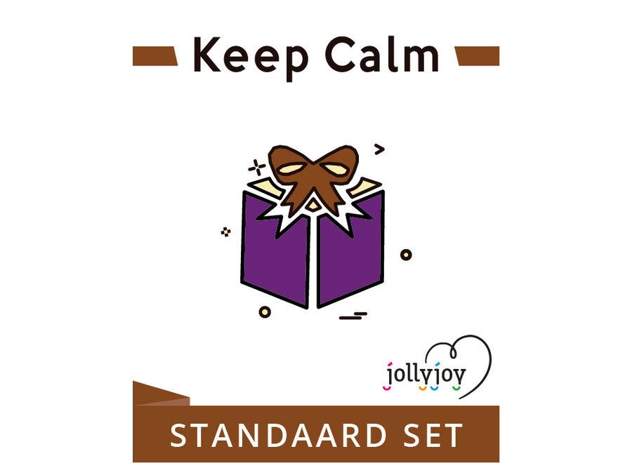 Keep Calm Standaard Pakket voor 8 of 10 personen OP=OP