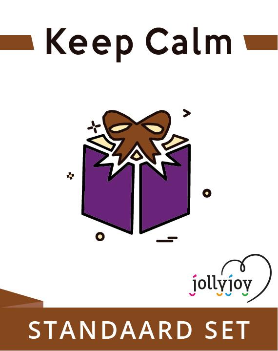 Jollyjoy STANDAARD SET KEEP CALM