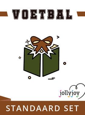 Jollyjoy Voetbal Standaard Pakket voor 8 of 10 personen