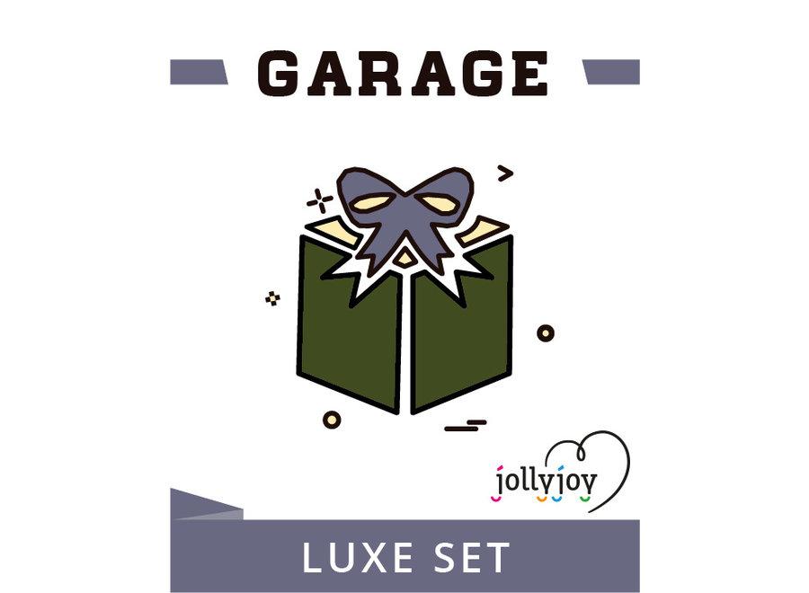 Garage Luxe Pakket voor 8 of 10 personen