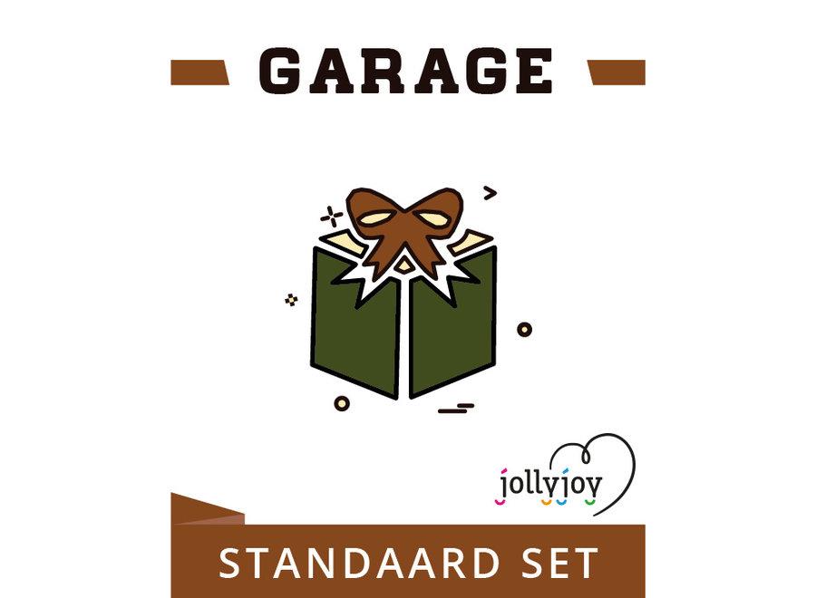 Garage Standaard Pakket voor 8 of 10 personen