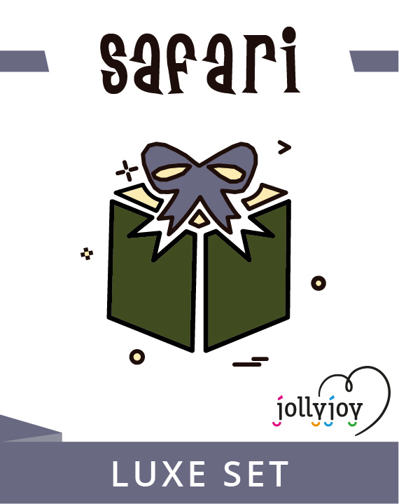 Jollyjoy KIT LUXO SAFARI
