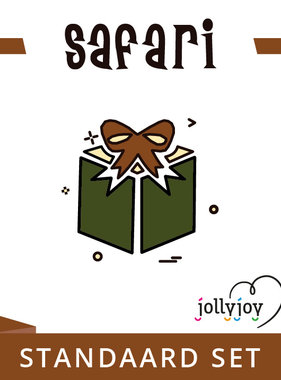 Jollyjoy Safari Standaard Pakket voor 8 of 10 personen