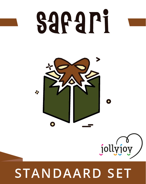 Jollyjoy KIT BASICO SAFARI
