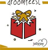 Jollyjoy Droomfeest Premium Pakket voor 8 of 10 personen