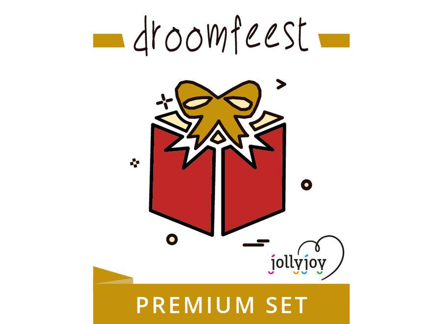 Droomfeest Premium Pakket voor 8 of 10 personen