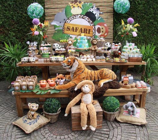Safari Versiering | Voor Kinderfeestjes | Feestartikelen  | Verjaardag vieren