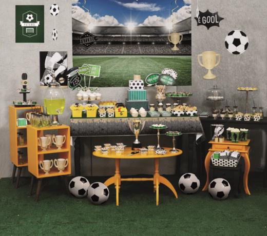Feestversiering voor Voetbalfeestjes | Voetbalfeest artikelen  | Verjaardag versiering jongen