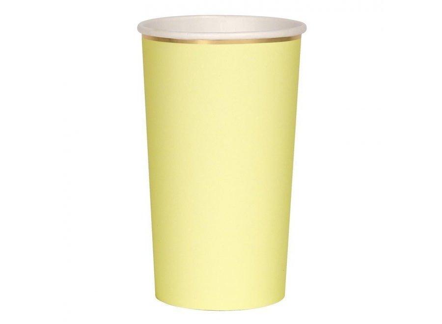 Copos Amarelo claro