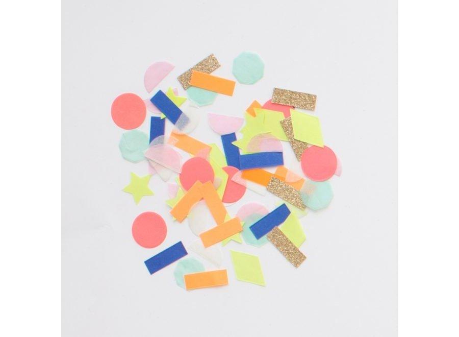 Regenboog-confetti