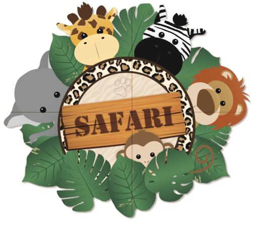 Themafeest Safari  | Verjaardag decoratie | Verjaardag spullen | Versiering jungle