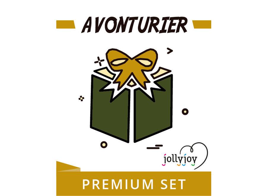 Avonturier Premium Feestpakket voor 8 of 10 personen