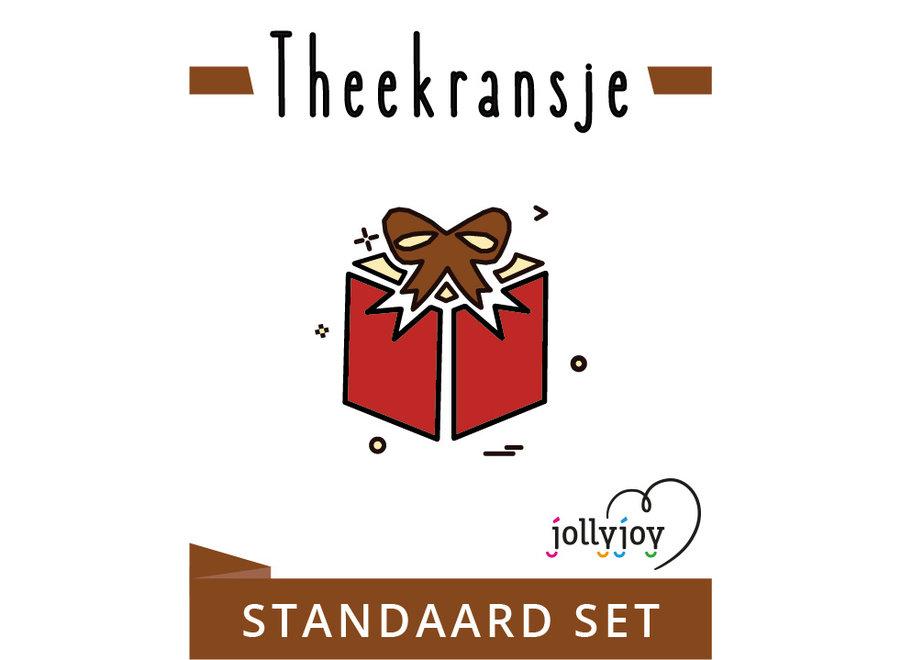 Theekransje Standaard Pakket voor 8 of 10 personen OP=OP