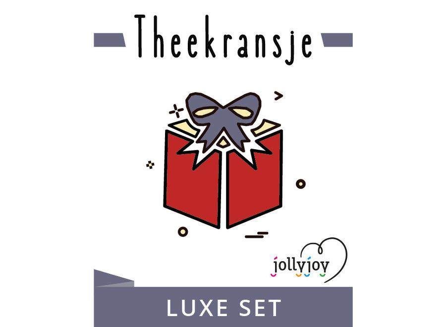 Theekransje Luxe Pakket voor 8 of 10 personen