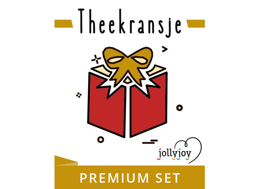 Theekransje Premium Pakket voor 8 of 10 personen