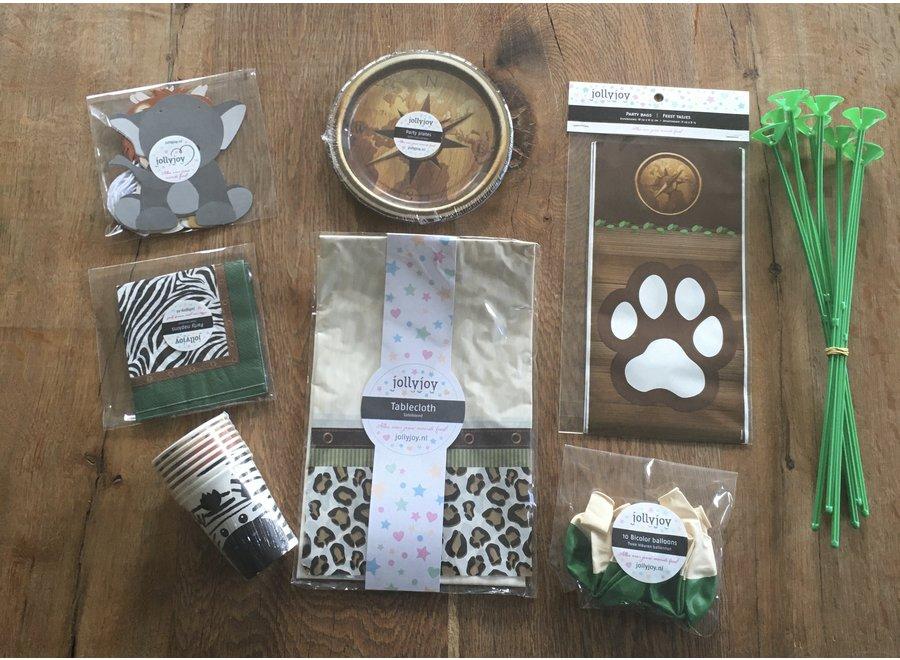 Safari Luxe Pakket voor 8 personen