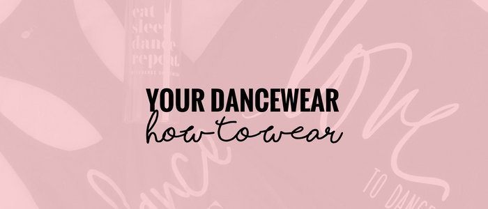 Rock your dancewear