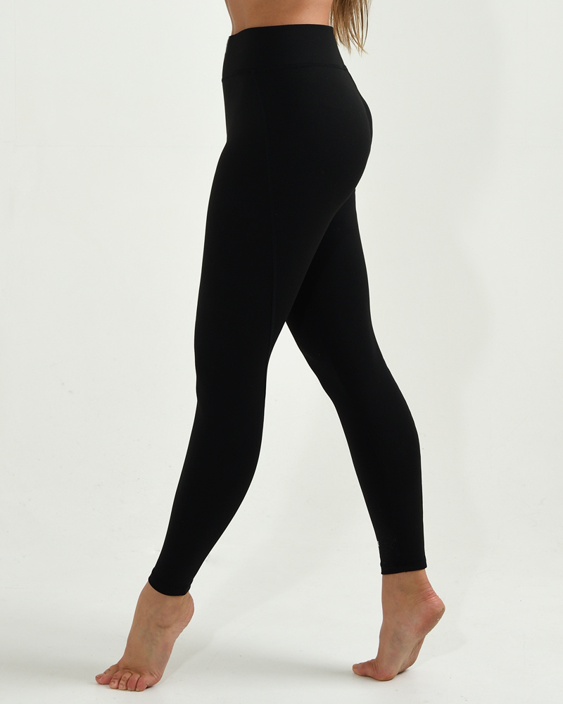 Dance Legging High Waisted Basic - black-3