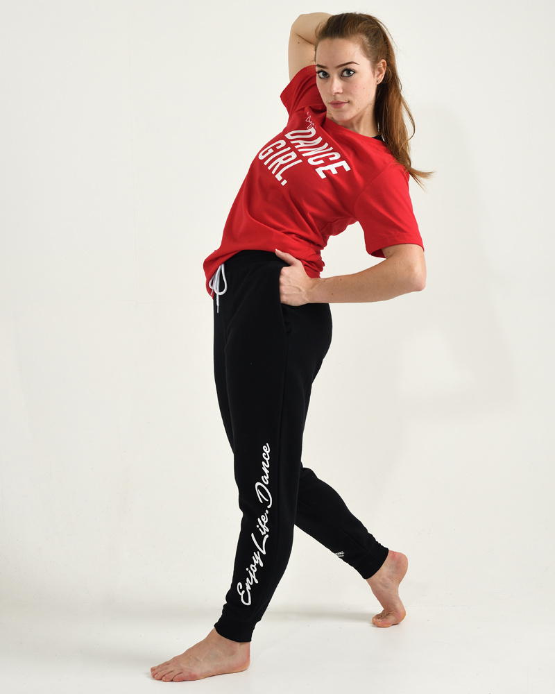 Dance Jogger Fleece Enjoy Life Dance - black-3