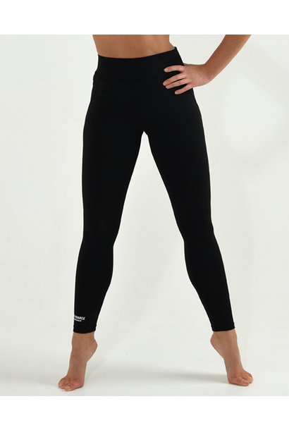 Dans Legging High Waisted Basic - black