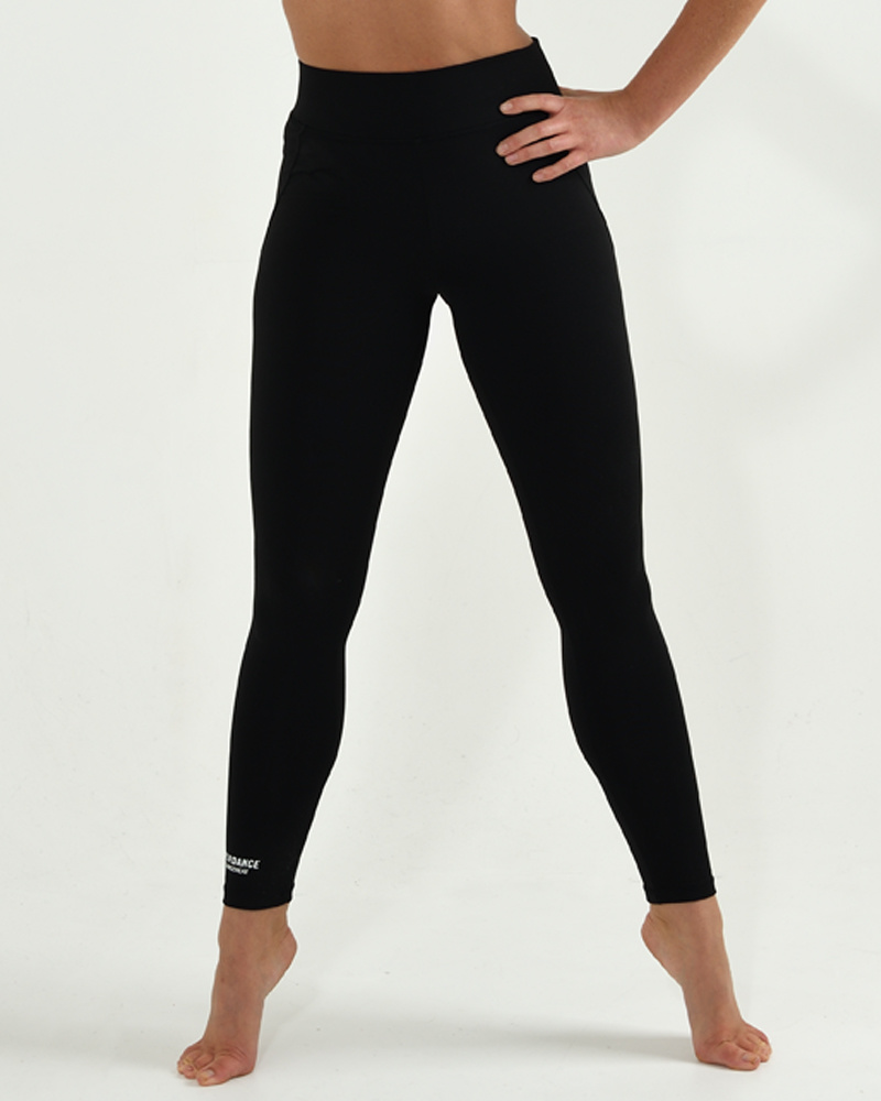 Dance Legging High Waisted Basic - black-1