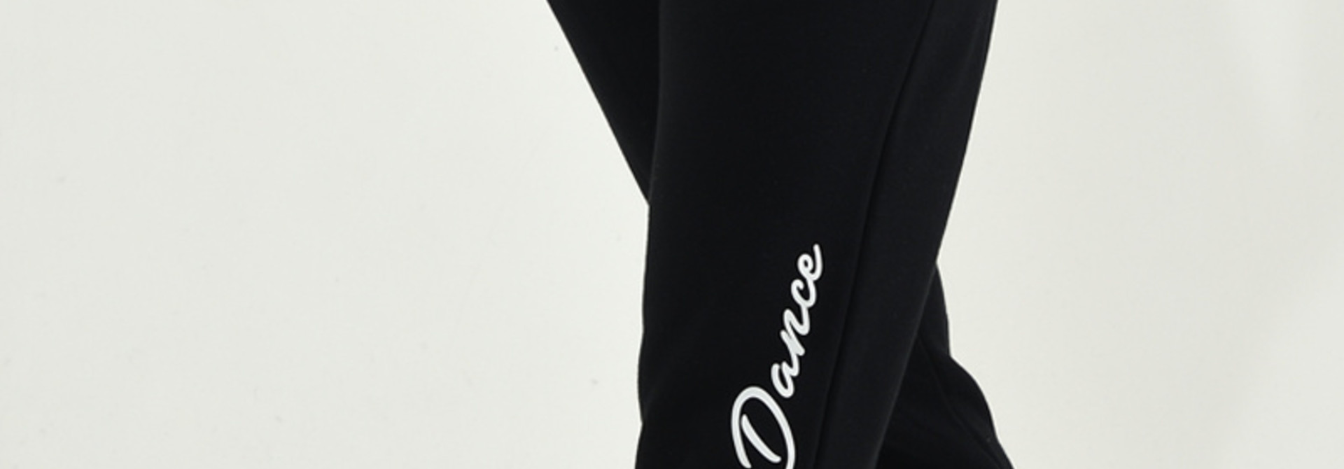 Dance Jogger Fleece Enjoy Life Dance - black