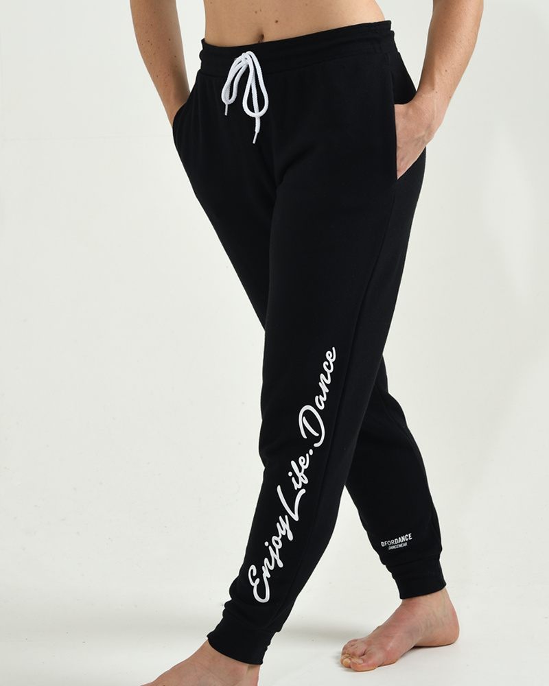Dance Jogger Fleece Enjoy Life Dance - black-1