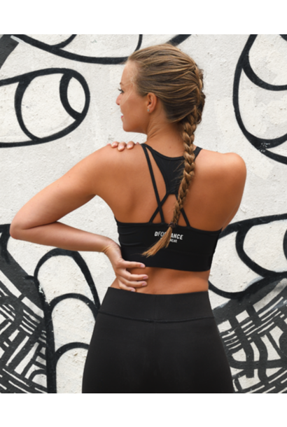 DEAL OF THE DAY: Dance Bra Criss Cross - black + free shipping (code DAYDEAL)