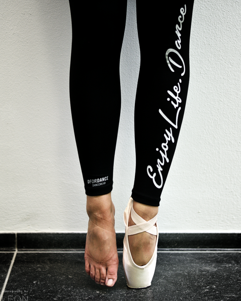 Dance Legging High Waisted Enjoy Life - black-2