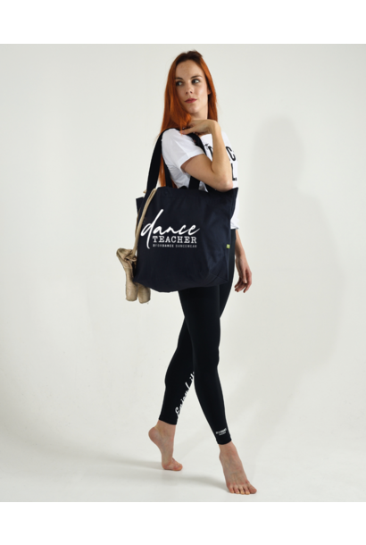 DEAL OF THE DAY: Eco big shopper Dance teacher navy + free shipping (code DAYDEAL)