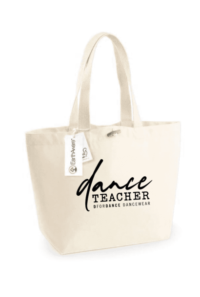 DEAL OF THE DAY: Eco big shopper Dance teacher neutral + free shipping