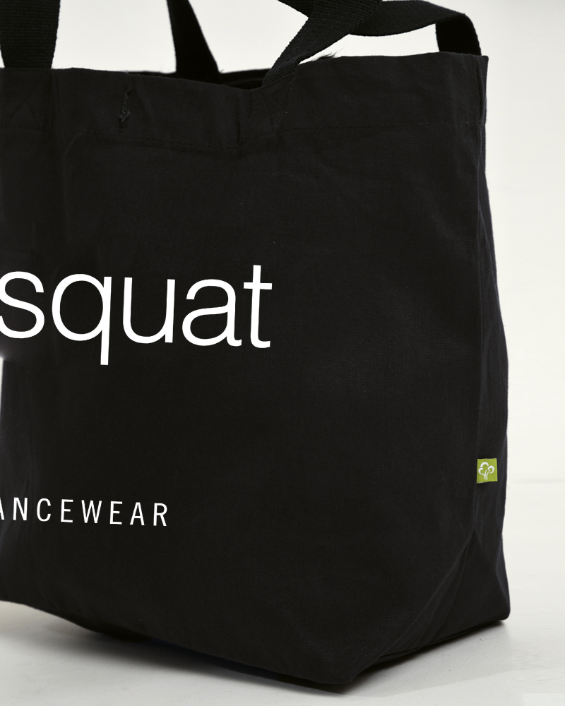 Dans Tas Eco I Don't Squat - zwart-4