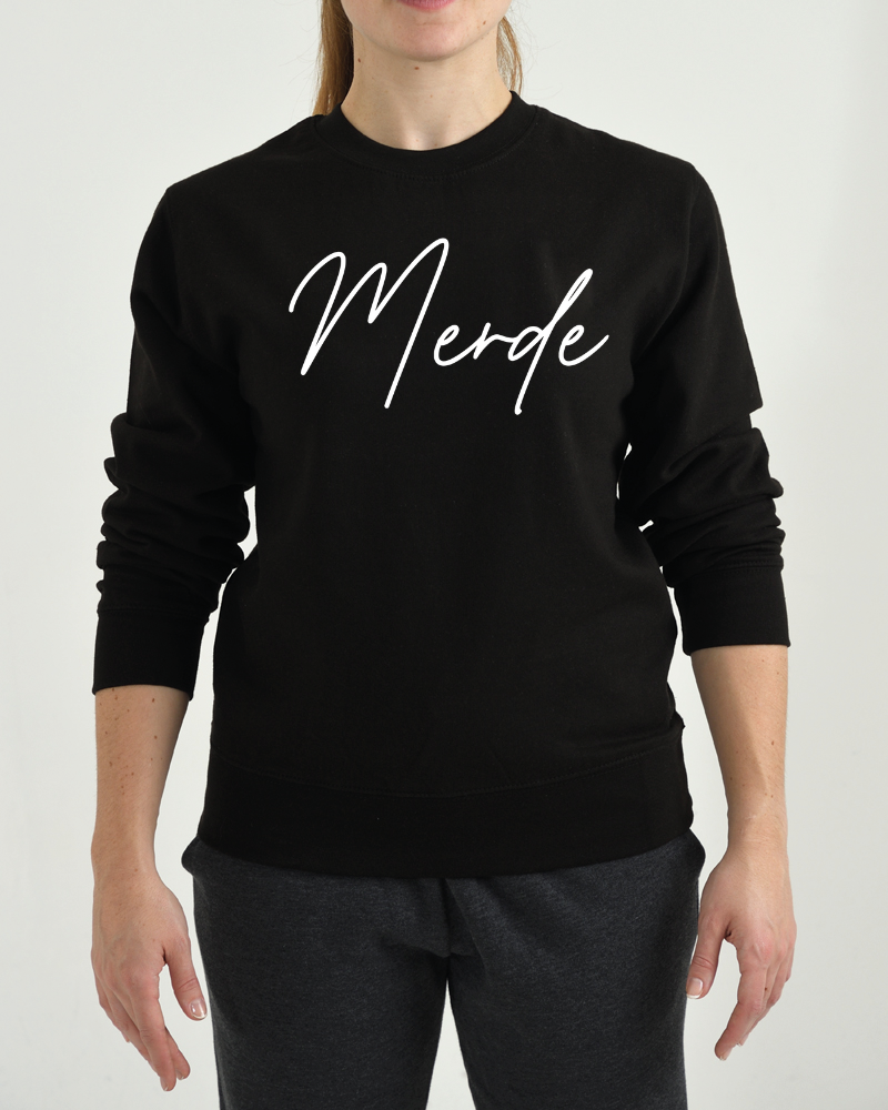 Dance Sweater Comfort Merde - black-3