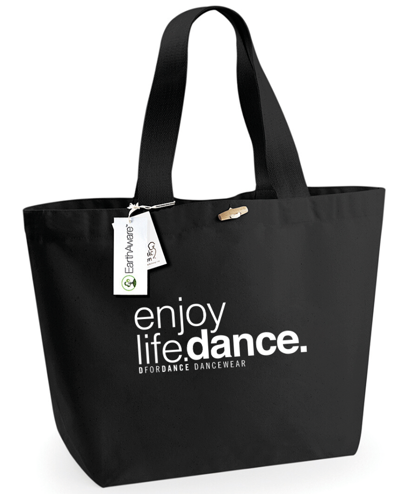 Dance Big Shopper Eco Enjoy Life Dance - black-2