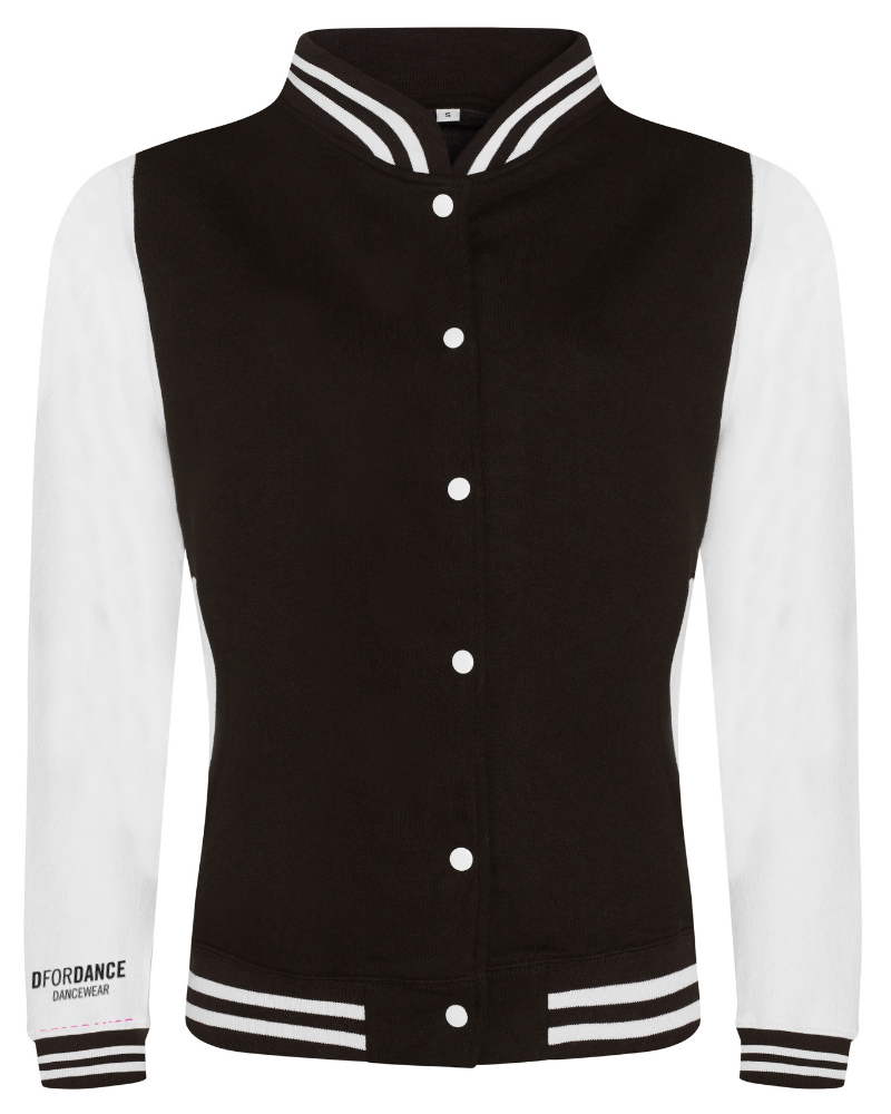 Retro jacket We can dance forever - black & white-2