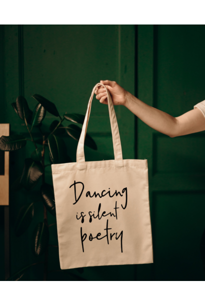 Shopper Dancing is silent poetry - neutral