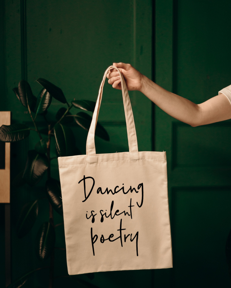Shopper Dancing is silent poetry - neutral-1