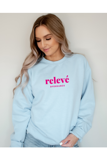 Sweater Relevé - baby blue
