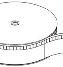 Forest DS XL Rail Fes Flexband - Transparant