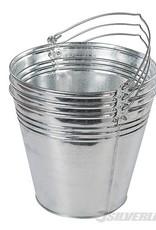 Silverline Verzinkte emmer, 14 liter capaciteit