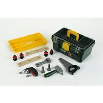Speelgoed gereedschapskoffer met boormachine