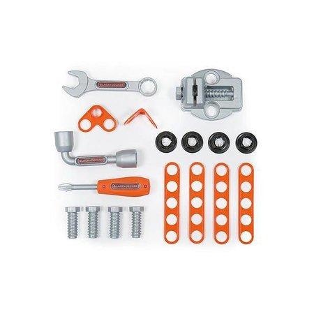 Smoby Black&Decker Mobiele werkbank en toolbox